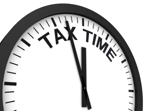 tax time cover photo