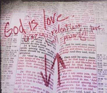 God is Love Bible Page Marker