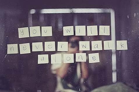 Never Alone Phrase
