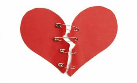Clothespen Heart