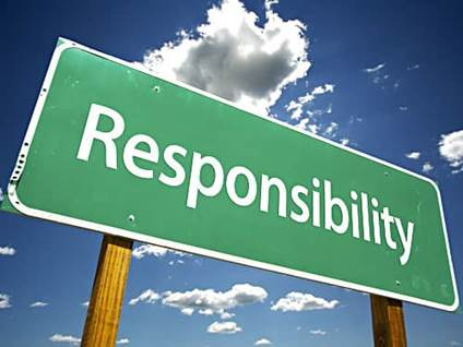 Responsibility Sign