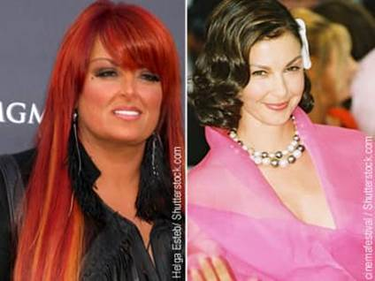 Wynonna Judd and Ashley Judd