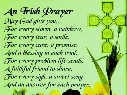 When is Saint Patrick\'s Day, Inspirational Irish Blessings, St ...
