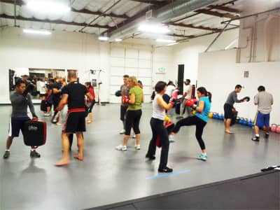 April Kickboxing