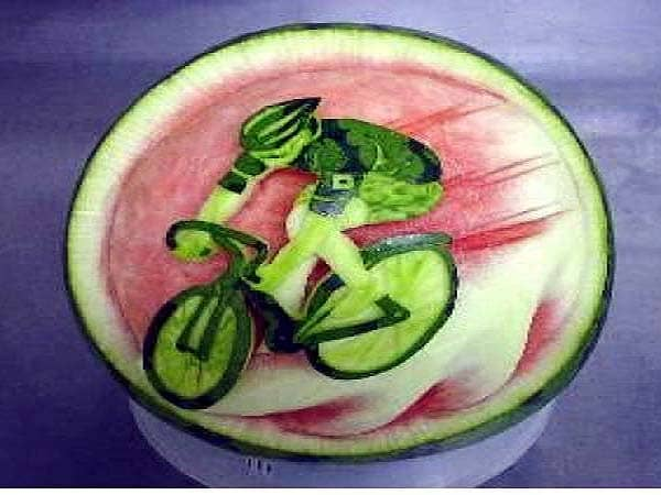 The incredible italian art of watermelon carving