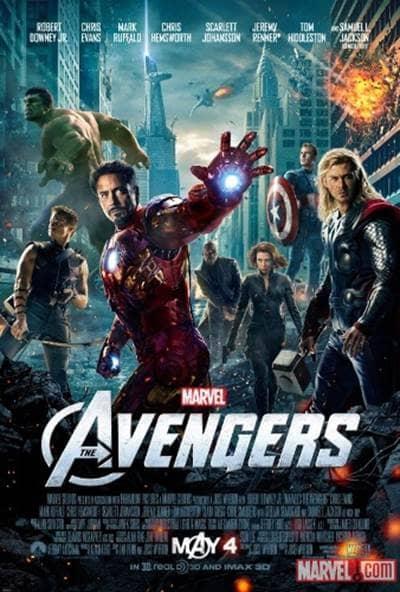 marvel avengers poster