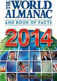 world almanac book cover