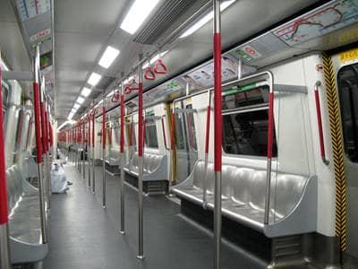 trains interior
