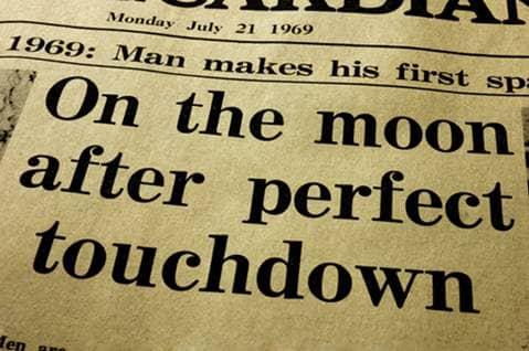 moon landing news