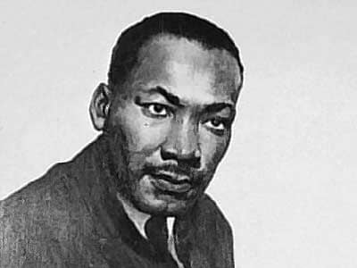 Martin Luther King, Jr. Portrait