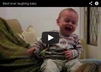 baby, laughing, funny, inspiration