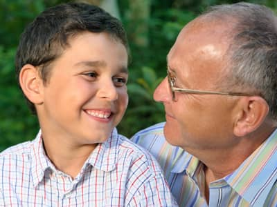 Family Values, Courage, talk to grandparents