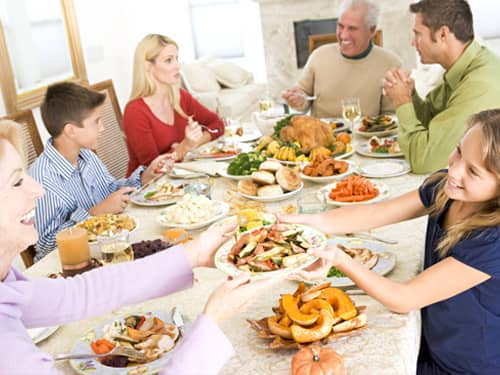Teaching respect - practice good table manners