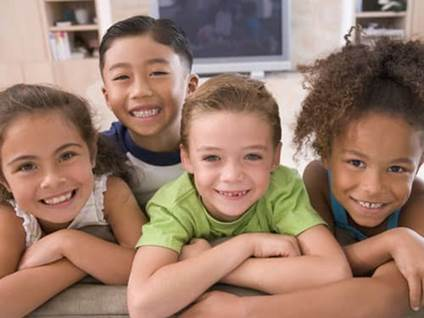 tolerance- kids of different ethnic groups