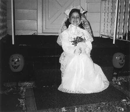 Danielle as a child