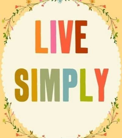 simple living cover photo