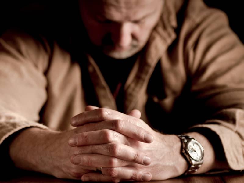Man Prayer