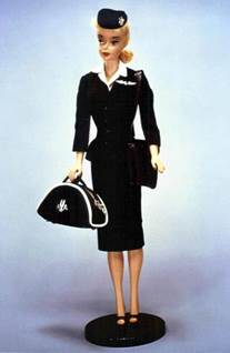 1961 Flight Attendant Barbie