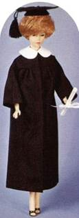 1963 College Graduate Barbie