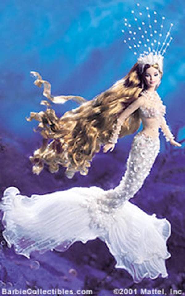 Spiritual collector barbie dolls enchanted mermaid this underwater waif is no little mermaid - Barbie barbie sirene ...