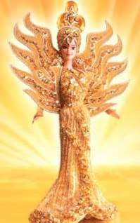 Goddess of the Sun Barbie