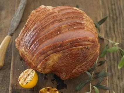 serving ham
