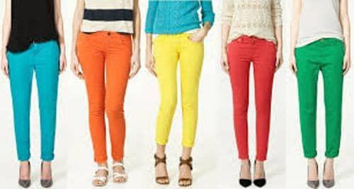 bold bright colors