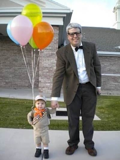 check out these clever ways you can shine on halloween with these diy costumes from the movie up