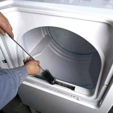 Cleaning Lint in Dryer