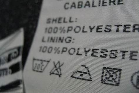 Garment Labels on Clothes
