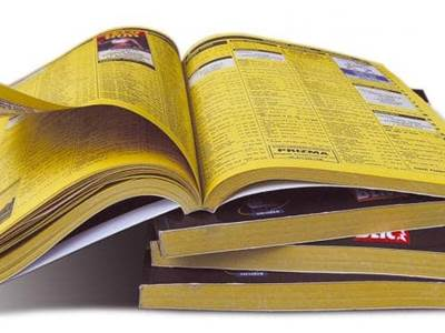 phone books