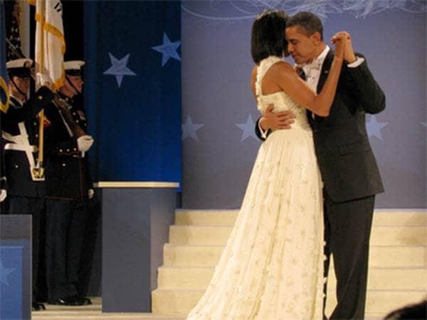 Michelle Obama - Dancing at Inaugural Ball