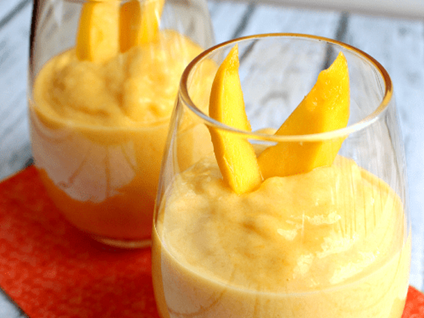 Peach and Mango Smoothie