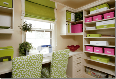 7 Tips to Dwell Well in a Small Space - Craft Room and Home Office ...
