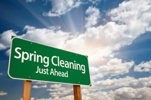 spring cleaning cover photo