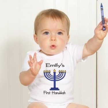 babys first hanukkah