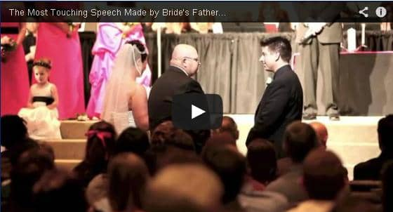 wedding, father of the bride, marriage, vows