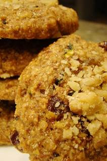 Cinnamon-Glazed Oatmeal Cookies, oatmeal cookies recipe