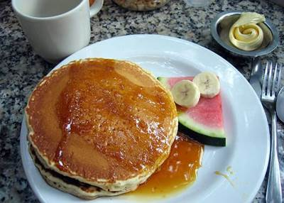 delicious pancake recipes, cinnamon syrup recipe
