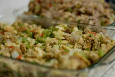 oyster dressing, stuffing recipes, seafood dressing, seafood stuffing recipes