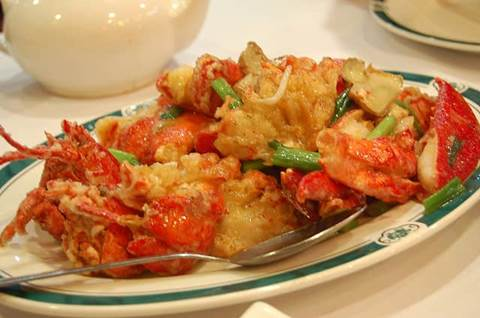 Lobster Ginger