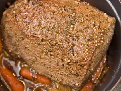 Comfort Food Recipes Pot Roast