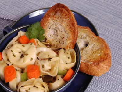 Comfort Food Recipes Tortellini Soup
