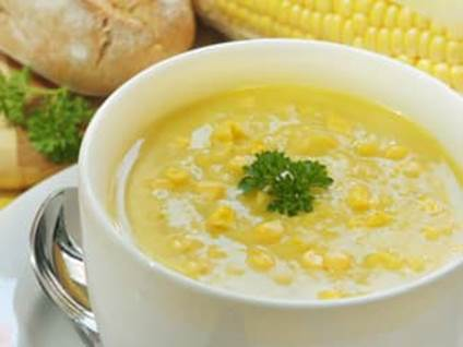 Cream corn soup