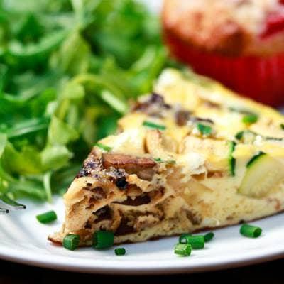 Zucchini Mushroom Frittata Recipe To Prepare Beliefnet