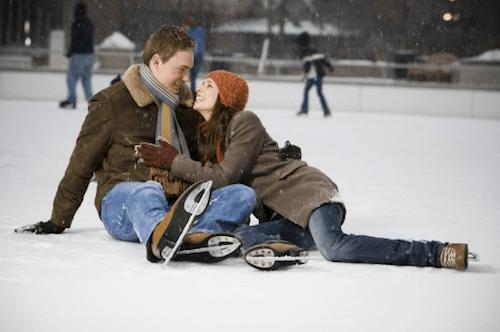 Dating ice skating