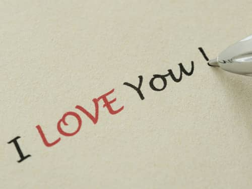 How to say to someone i love you