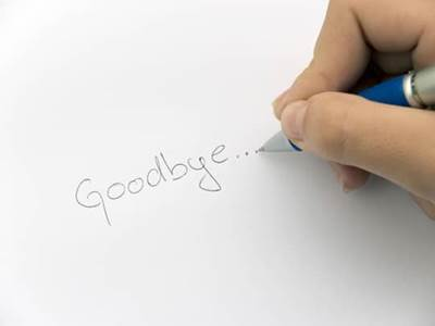 How To Break Up With A Friend  Compose A Goodbye Letter  Beliefnet