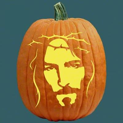 10 Great Christian Pumpkin Carving Ideas Jesus With A