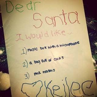 funny, letters, santa